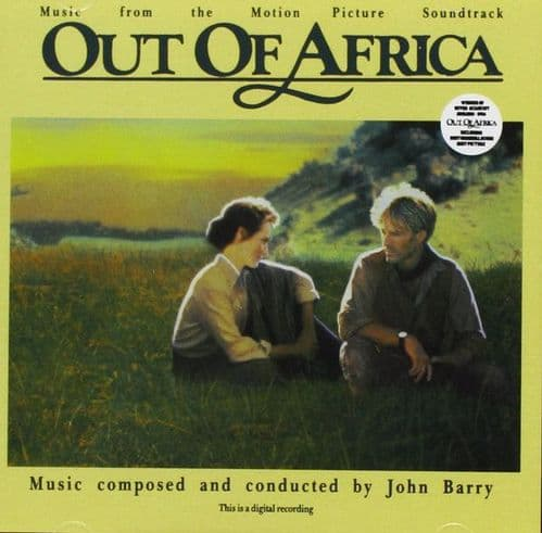 John Barry<br>Out Of Africa (Music From The Motion Picture Soundtrack)<br>CD